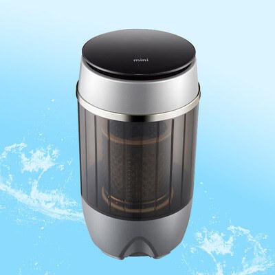 现代迷你单桶半自动洗衣机 节能低耗降噪洗衣机4.5kg